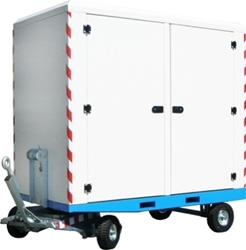 Rimorchio container Baldi BOX 180