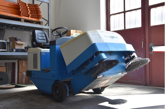 Fiorentini S34D Spazzatrice